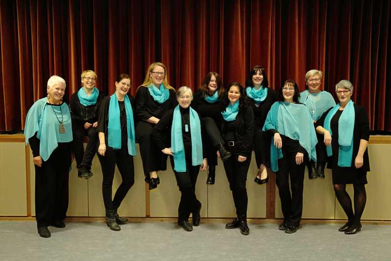 Gruppenfoto Sopran Stimmen
